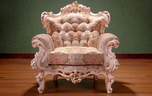 Rococo style khayu classic indonesia for Rococo style furniture